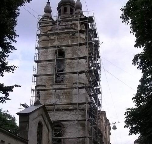 Lviv, Armenian assembly of the present the god, 2009