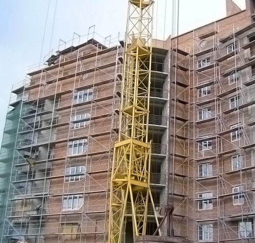 Новобудова вул. Сахарова, 2005 р.