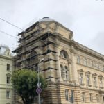 Main building of LNU. I.Franko str. University, 1, Lviv, 2019