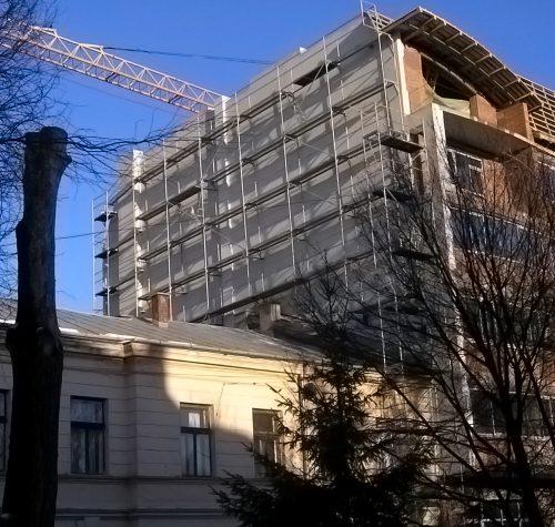 House complex in Lviv, ul. Nekrasova, 2007