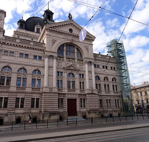 Lviv national academic theater of opera and ballet 2015