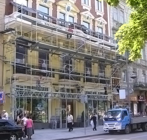 "Lviv, modern trade gallery ""Opera Passage"" 2009"