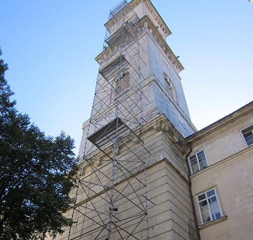 Lviv ratusha, 2013