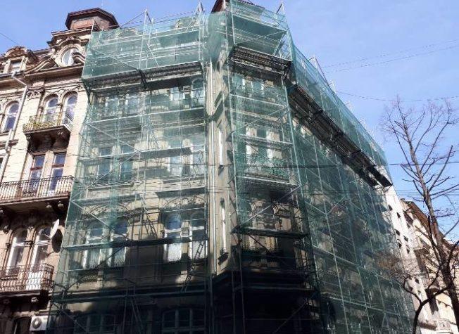 Residential building, st. P. Saksaganskogo, 11, Lviv, 2018.