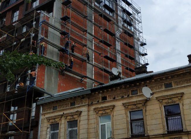Residential building Kulisha, Lviv, 2019