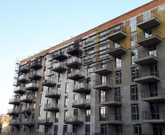 Residential building Chemical, Lviv, 2019